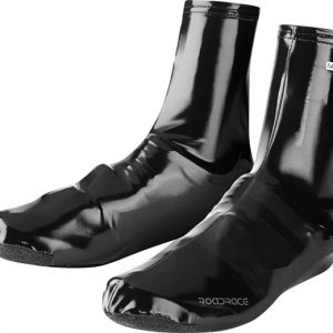 madison roadrace pu lycra aero overshoes black